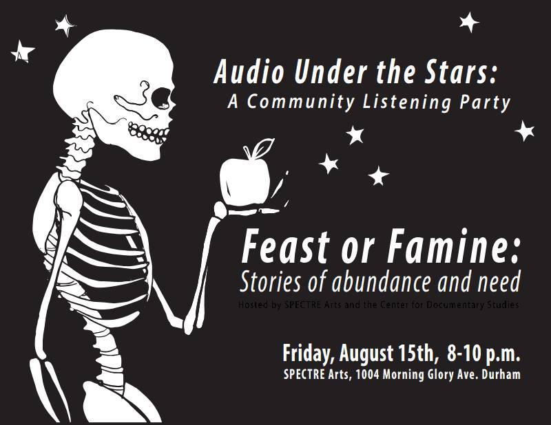 Audio under the stars Pt. 3