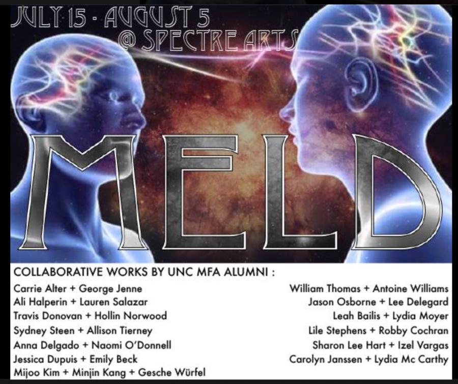 MELD, A UNC Alumni Duo Exhibit